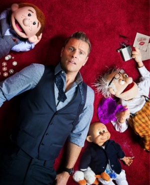 PAUL ZERDIN: ALL MOUTH at The Redgrave Theatre in Bristol on 28 October