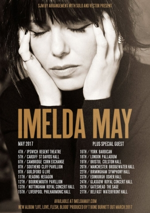 Imelda May at The Colston Hall in Bristol on Friday 19th May 2017