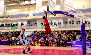 Bristol Flyers v Newcastle Eagles - Basketball Playoffs on 28 April 2017