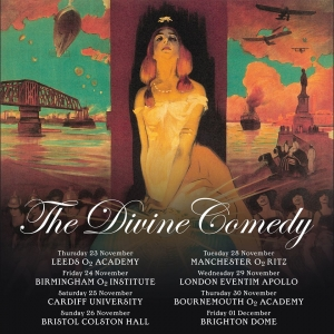 The Divine Comedy will be at Colston Hall on Sunday 26th November