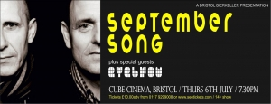 September Song at the Cube Cinema - 6 July