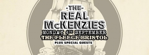 The Real McKenzies at The Fleece in Bristol on Monday 4 September 2017