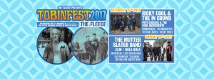 Tobinfest 2017 at The Fleece, Bristol on Saturday 15 July 2017