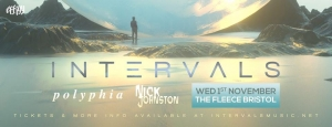 Intervals + Polyphia + Nick Johnston at The Fleece in Bristol on Wednesday 1 November 2017