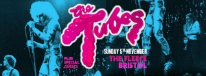 The Tubes at The Fleece in Bristol on Sunday 5 November 2017