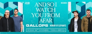 And So I Watch You From Afar at Thekla in Bristol on Sunday 26 November 2017