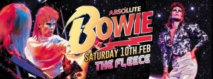 Absolute Bowie at The Fleece in Bristol on Saturday 10 February 2018
