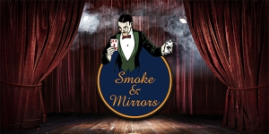 Close-up magic at Smoke & Mirrors - Wednesday 17 August