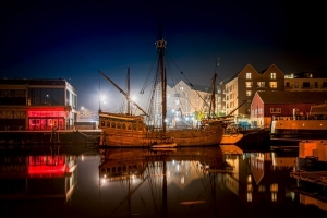Fish and Chips Trip aboard The Matthew of Bristol - 2 September 2017