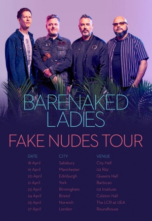Barenaked Ladies at Colston Hall on Tuesday 24th April 2018