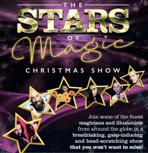 Stars of Magic Christmas Show at The Redgrave Theatre 27th-30th December 2017