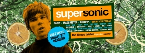 Supersonic Britpop Club Night at The Fleece in Bristol on Friday 27 October 2017