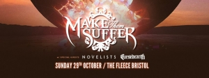 Make Them Suffer at The Fleece in Bristol on 29 October 2017