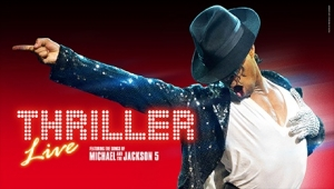 Thriller Live at the Bristol Hippodrome from Monday 9th-Saturday 14th July 2018