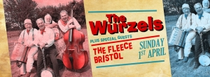 The Wurzels at The Fleece Bristol 1st April 2018
