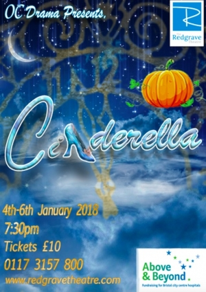 The Old Cliftonian Drama Society presents Cinderella at The Redgrave Theatre Bristol