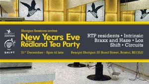 Shotgun Sessions New Year's Eve with Redland Tea Party in Bristol