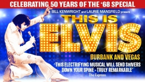This is Elvis at Hippodrome in Bristol from Monday 23rd July to Saturday 28th July 2018