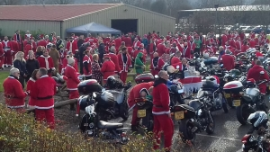 13th Annual Santas on a Bike ride on Saturday 1st December 2018