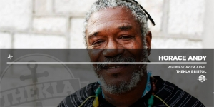 Horace Andy at Thekla in Bristol on Wednesday 4th April 2018