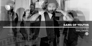 Gang of Youths at Thekla in Bristol on Thursday 10th May 2018