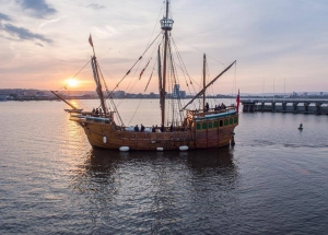 Harbour Cruises in Bristol aboard The Matthew April 2018