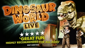Dinosaur World Live at Hippodrome in Bristol from Thursday 28th June to Saturday 30th June 2018