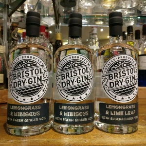 Bristol Dry Gin weekly gin tastings at The Rummer Hotel 12-13 October 2018