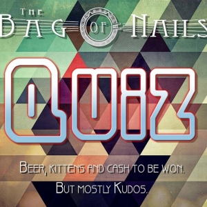Quiz night at the Bag of Nails, Hotwells, Bristol - Tuesday 30 October 2018