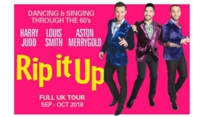 Rip It Up at Hippodrome in Bristol on Monday 15th October 2018