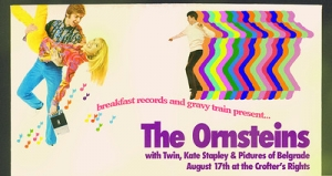 Breakfast Gravy presents: The Ornsteins at Crofters Rights in Bristol on Friday 17th August 2018