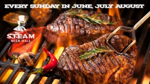 Bottomless BBQ's at Steam Bristol on Sunday 8 July 2018