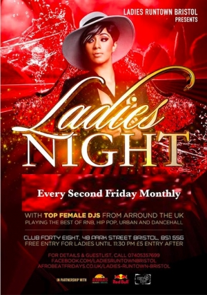 Ladies Night at Club 48 in Bristol on 11 January 2019