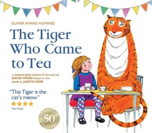 The Tiger Who Came To Tea at The Redgrave Theatre Bristol from Tuesday 18th-Friday 21st December 2018