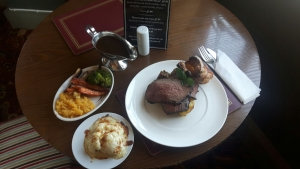 Sunday Lunch at The Spotted Cow Bristol 21 October 2018