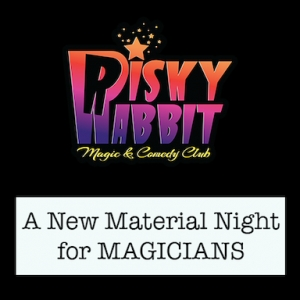 Risky Rabbit Magic & Comedy Club at Smoke and Mirrors Bar Bristol