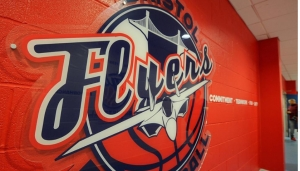 Bristol Flyers v Worcester Wolves at SGS College Arena on Saturday 24th November 2018