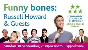 Funny Bones: Russell Howard & Guests at Bristol Hippodrome on Sunday 30th September 2018