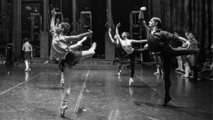 Birmingham Royal Ballet - Class on Stage at Bristol Hippodrome on Saturday 4th May 2019