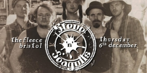 Steve'N'Seagulls at The Fleece in Bristol Thursday 6 December 2018