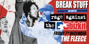 Break Stuff – Rage Against The Bizkit at The Fleece in Bristol on Friday 7 December 2018