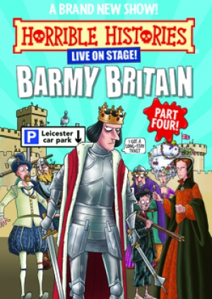 Horrible Histories at The Redgrave Theatre in Bristol from 29th - 31th March 2019