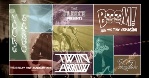 Twin Arrow + Support at The Fleece in Bristol on Thursday 31 January 2019