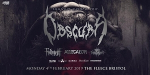 Obscura + Fallujah + Allegaeon + First Fragment at The Fleece on Monday 4 February 2019
