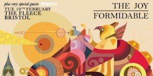 The Joy Formidable + Adwaith at The Fleece in Bristol on Tuesday 19 February 2019
