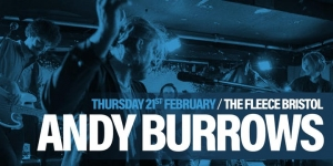 Andy Burrows at The Fleece in Bristol on Thursday 21 February 2019