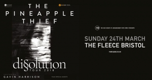 The Pineapple Thief at The Fleece in Bristol on Sunday 24 March 2019