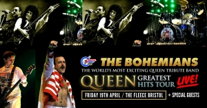 The Bohemians – A Tribute To Queen at The Fleece in Bristol on Friday 19 April 2019