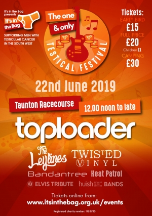It's In The Bag presents Testical Festival 2019 on Saturday 22nd June