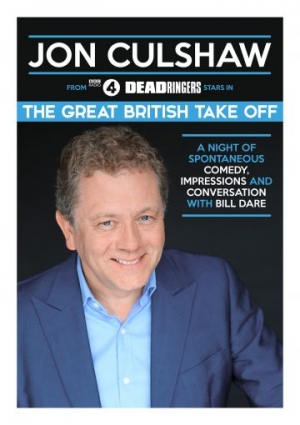 Jon Culshaw at Redgrave Theatre in Bristol on Sunday 29th September 2019